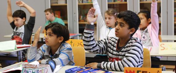GERMAN SCHOOL REFUGEES