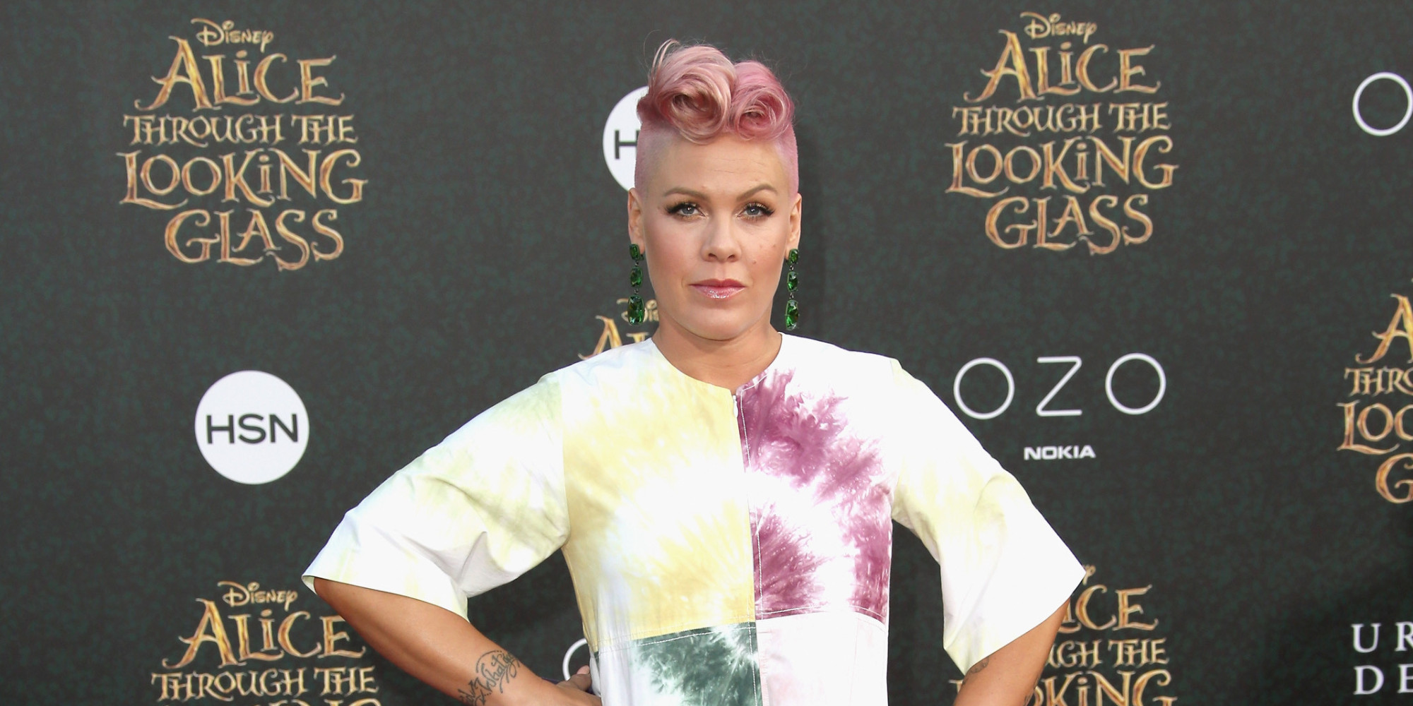 Pink Sends Empowering Post-Baby Weight Loss Message