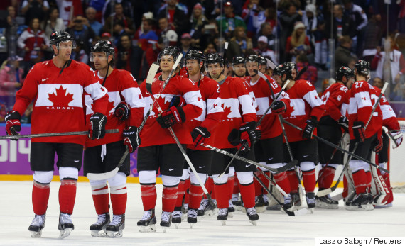 team canada hockey olympics