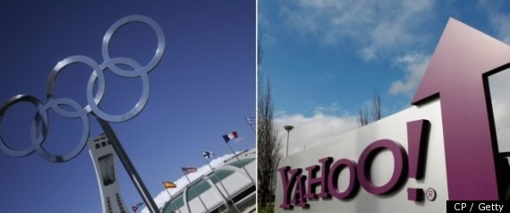 YAHOO OLYMPICS BROADCAST RIGHTS