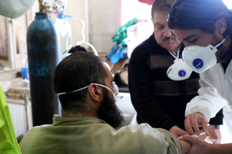 chemical attack in idlib