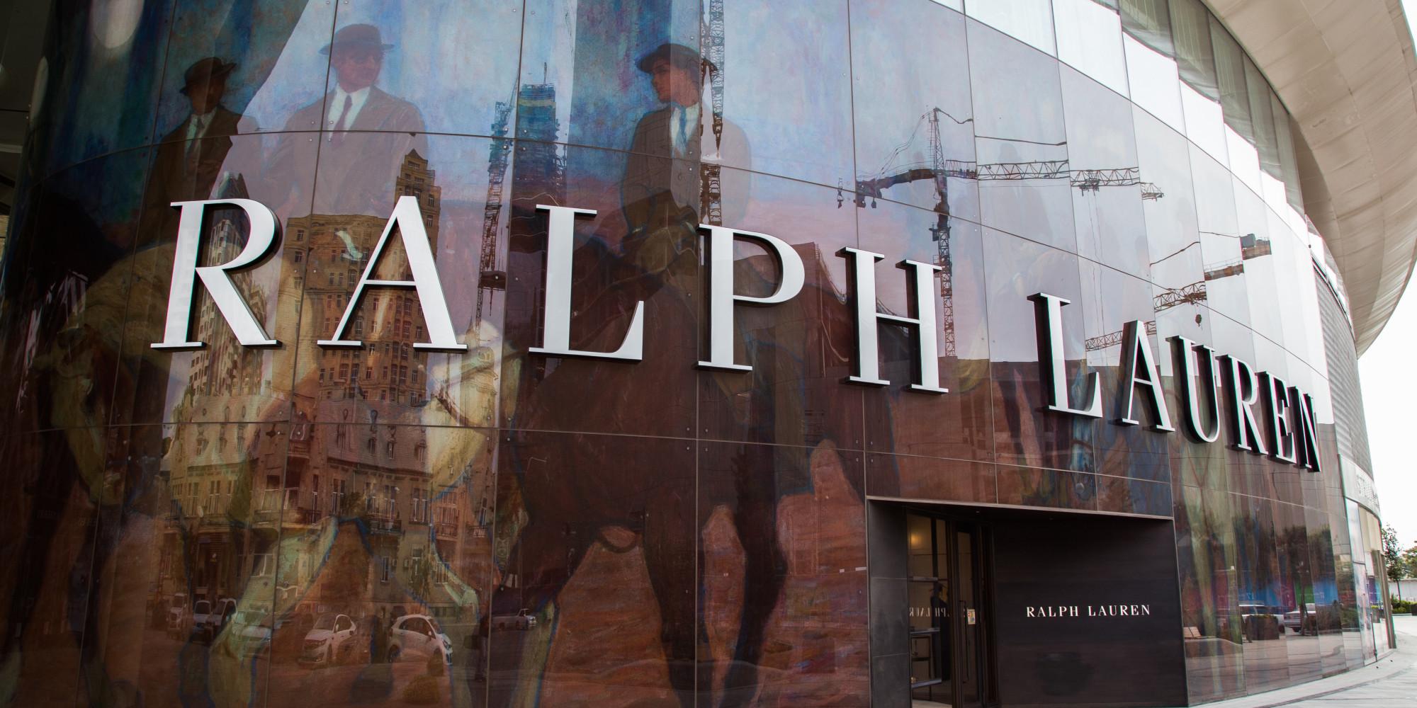 ralph lauren supprime des emplois et ferme des magasins