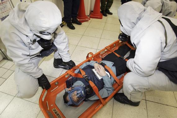 sarin gas japan