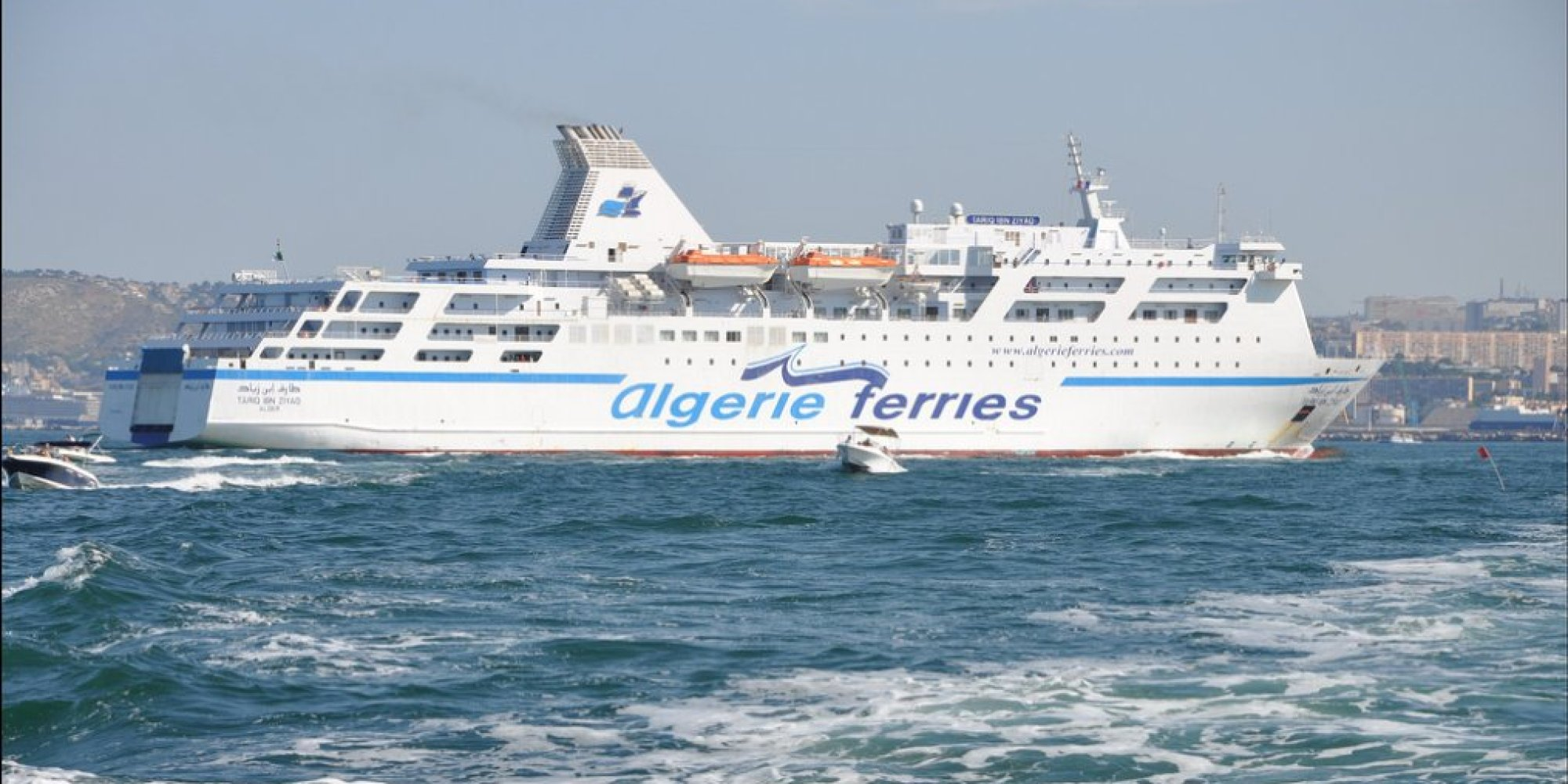 Alg rie ferries attribue la construction d 39 un car ferry - Port de marseille pour aller en algerie ...