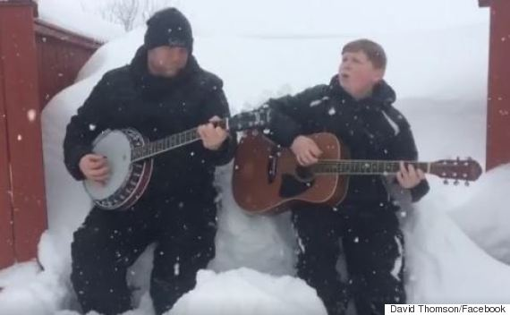 newfoundland snow song