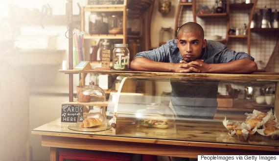 bored barista