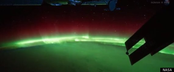 Aurora From Space Station Looks Spectacular In ISS ...