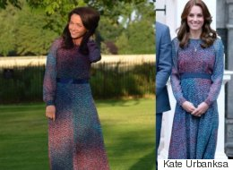 Fashion Blogger Matches Kate Middleton's Outfits, Look For Look