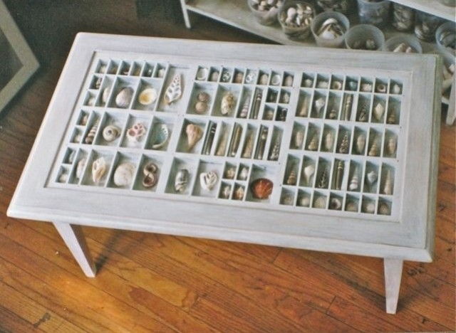 Custommade Curator Printer S Drawer Coffee Table Huffpost - Beach House Coffee Table CoffeTable