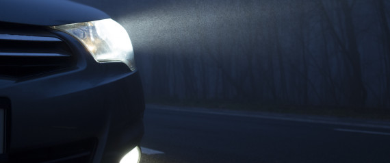 LIGHT CAR NIGHT