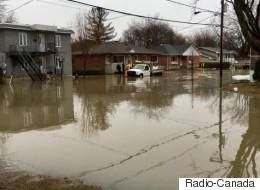 Pluies abondantes: nombreuses inondations au Québec