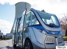 Un projet de minibus sans conducteur à Montréal