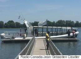 Pas encore de navette fluviale en vue entre l'Est et le Vieux-Montréal