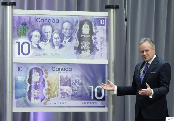 bank of canada 10 bill