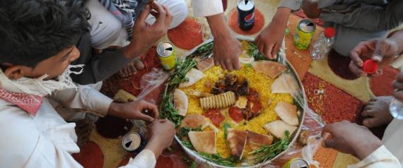 FOOD IN SAUDI ARABIA
