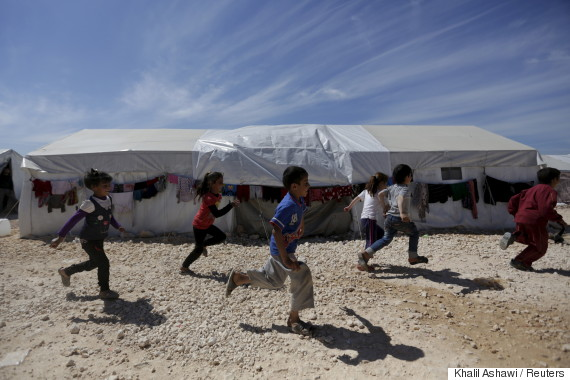 syria refugees april