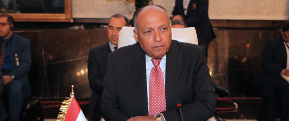 EGYPTIAN FOREIGN MINISTER