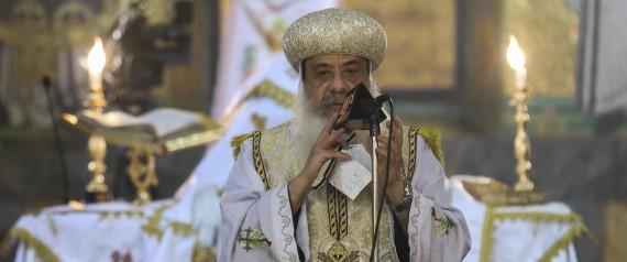 POPE TAWADROS II OF ALEXANDRIA