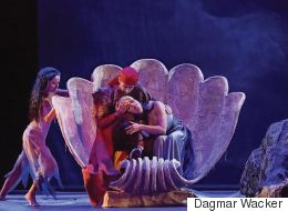 Oper im Theater von Ludwig dem XIV: Aeneas und Dido