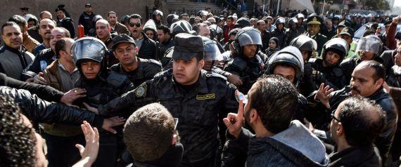 DEMONSTRATIONS IN EGYPT