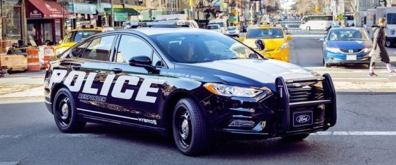 FORD NEW POLICE CAR