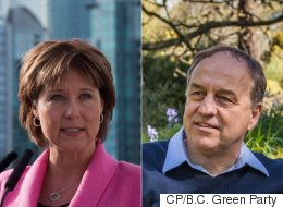 B.C. Green Party Leader Is More Popular Than Christy Clark: Poll