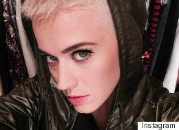 Katy Perry a les cheveux (encore) plus courts
