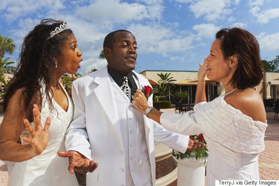 wedding fight