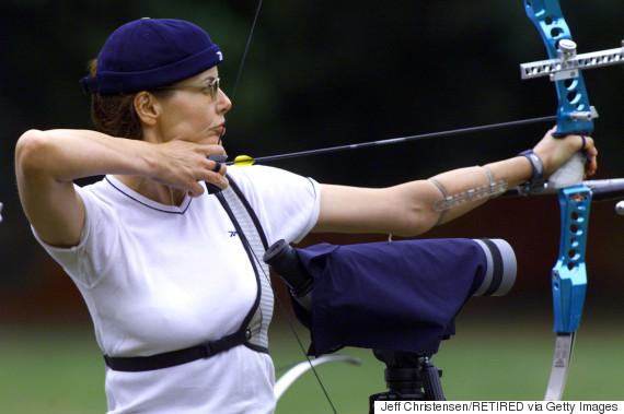 geena davis and archery