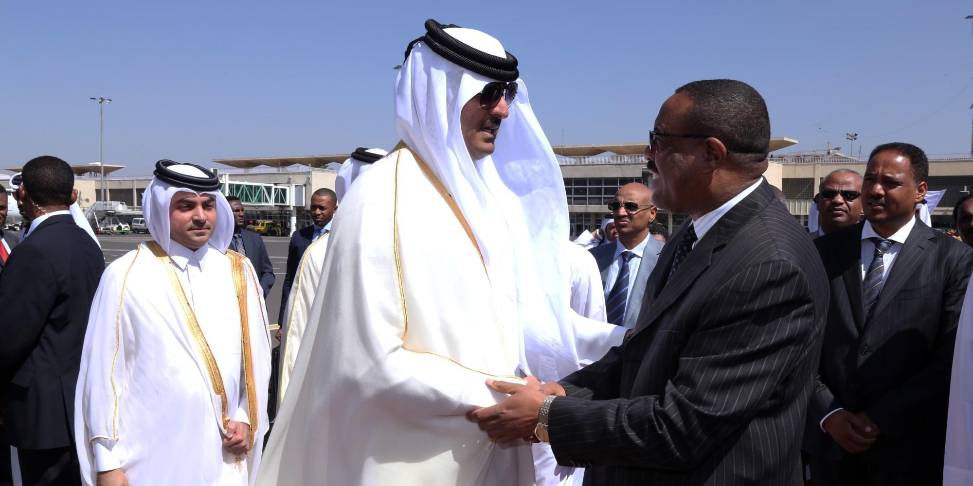 لم يناقشا ملف سد النهضة.. قطار وبنية تحتية ومشاريع غذائية خلاصة زيارة أمير قطر إلى إثيوبيا