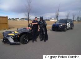Calgary Police Pulled Over This Familiar-Looking Dude