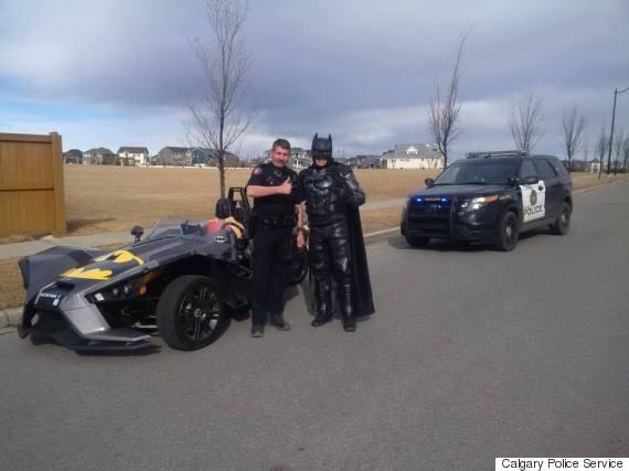 calgary police batman
