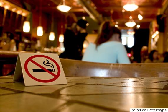 smoking restaurant