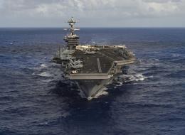 حاملة طائرات نووية أميركية لها تاريخ مخيف.. في طريقها لتهديد زعيم كوريا الشمالية