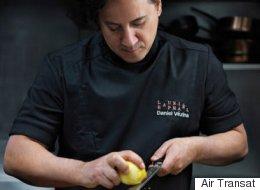 Des repas du chef Daniel Vézina à bord des vols d'Air Transat