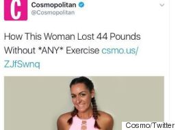Cosmo's New Weight Loss Tip Is.. Cancer
