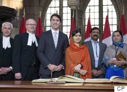 It's Official: Malala Yousafzai Is An Honorary Canadian Citizen