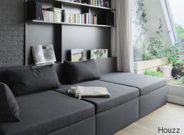 Wände und Sofa in derselben Farbe -funktioniert das?