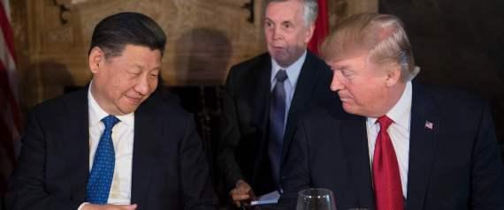TRUMP DINNER THE CHINESE PRESIDENT