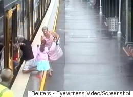 Toddler Falls In Train Platform Gap In Nail-Biting Video