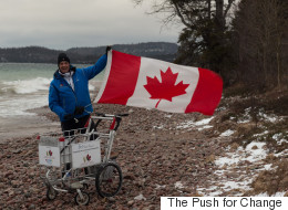 A Heroin Addict-Turned-CEO Is Pushing A Shopping Cart Across Canada