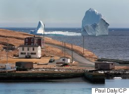Massive Iceberg Off Newfoundland's Coast Is A Glory To Be Seen