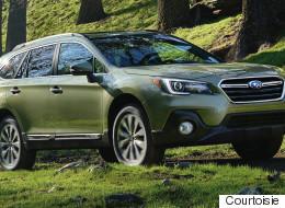 Subaru Outback 2018: adieu boîte manuelle