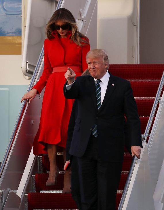 melania inauguration