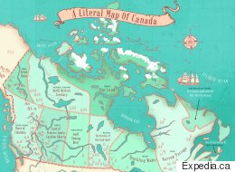 Map Reveals Name Origins Of Canada's Provinces And Territories