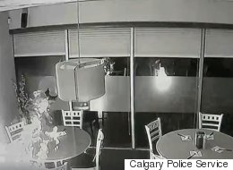 WATCH: Calgary Suspect Sets Restaurant (And Own Clothes) On Fire