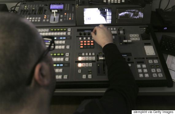 news camera crew