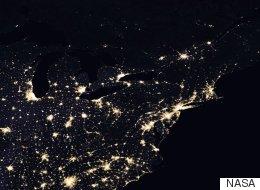 NASA Photos Show How Earth Lights Up After Night Falls