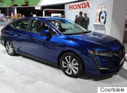 Honda Clarity : une nouvelle voiture électrique signée Honda