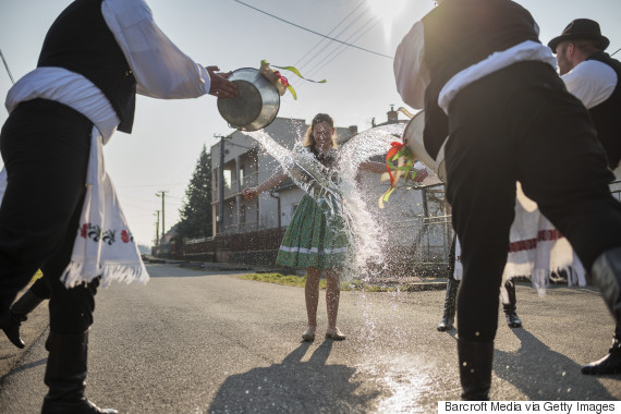 slovakia water women easter
